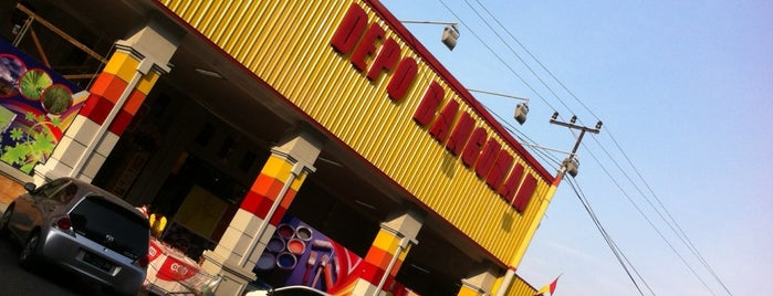Depo Bangunan is one of Top 10 favorites places in Surabaya, Indonesia.