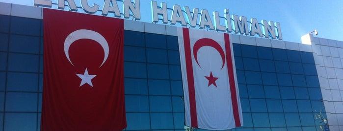 Ercan Havalimanı (ECN) is one of Havalimanları.