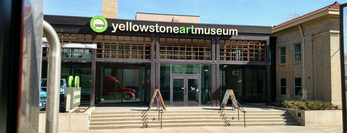 Yellowstone Art Museum is one of First Fridays in Downtown Billings.
