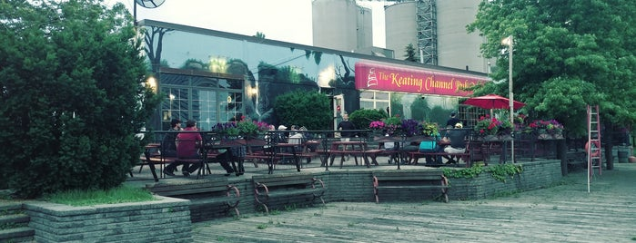 The Keating Channel Pub & Grill is one of MLS Pubs in Toronto.