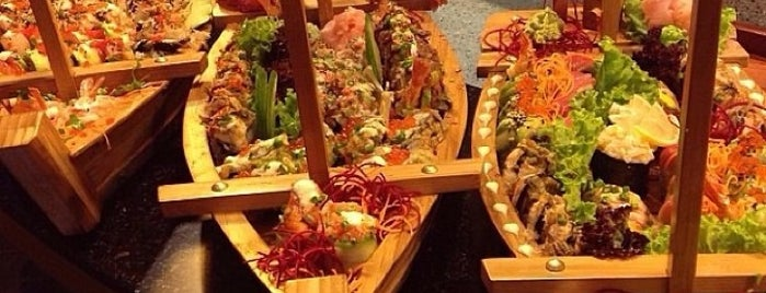 Yuka Kaiten Sushi is one of Японские рестораны.
