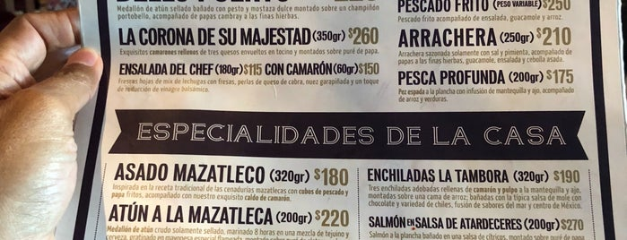 La Mazatleca is one of Mazatlan.