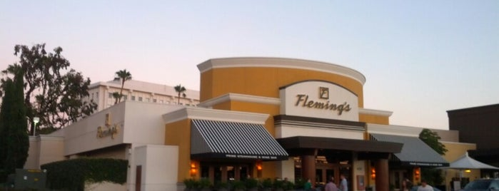 Fleming's Prime Steakhouse & Wine Bar is one of Eat, drink & be merry.