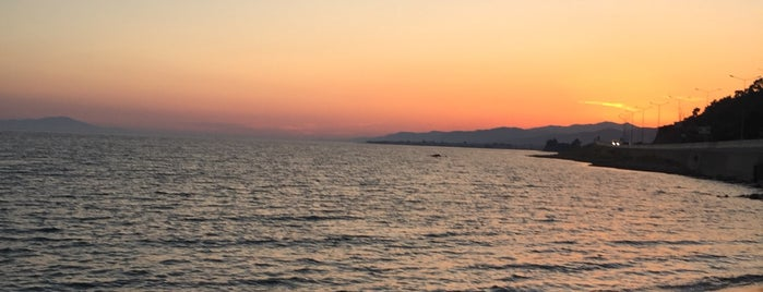 Afrodit Beach is one of doğallık..