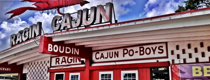 Ragin Cajun is one of Places to try.