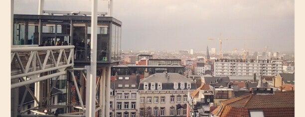 Ascenseur Marolles-Poelaert / Lift Marollen-Poelaert is one of Brussels: the insider's guide.