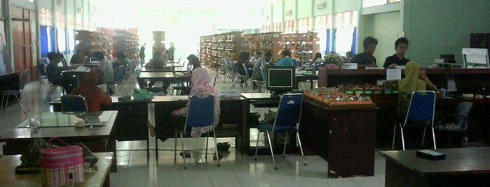 UPT. Perpustakaan Universitas Tadulako is one of Universitas Tadulako Palu.