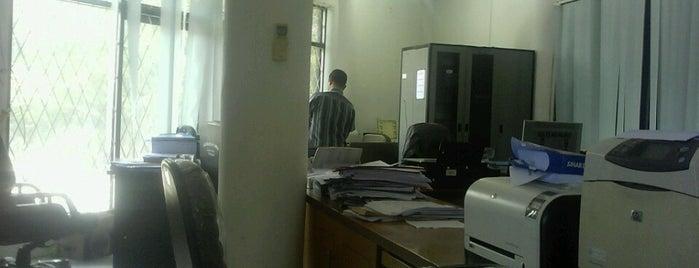 BAKP Universitas Tadulako is one of Universitas Tadulako Palu.