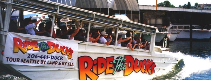 Ride the Ducks is one of Alyssa's Seattle visit.
