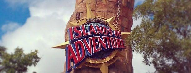 Universal's Islands of Adventure is one of Orlando, FL.