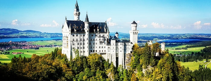 Neuschwanstein is one of Go Ahead, Be A Tourist.