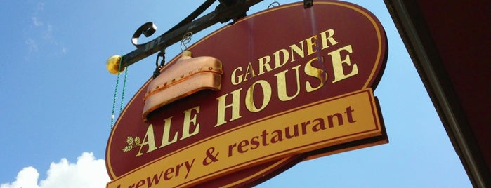 Gardner Ale House is one of New England Breweries.