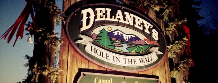Delaney's Hole in The Wall is one of New Hampshire.
