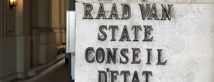 Conseil d'État / Raad Van State is one of Work.