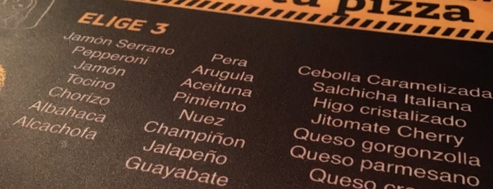 Pizzas clandestinas is one of To try.
