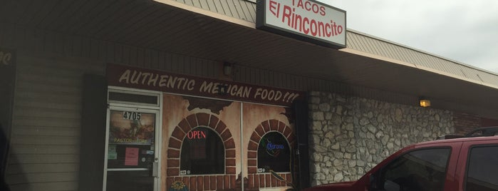 Tacos El Rinconcito is one of The 15 Best Places for Tacos in Tulsa.