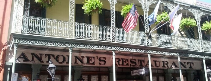 Antoine's Restaurant is one of New Orleans To-Do List.