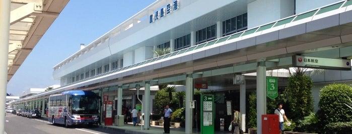 Kagoshima Airport (KOJ) is one of 降り立った空港.