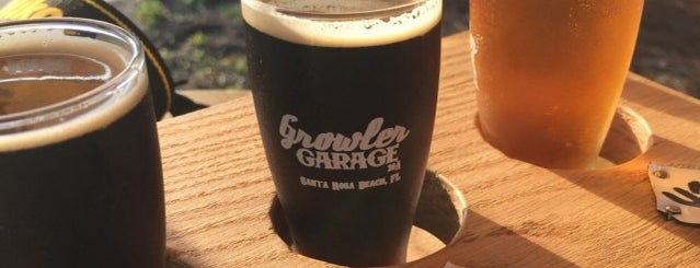 Growler Garage is one of The Best of the North Florida Gulf Coast.