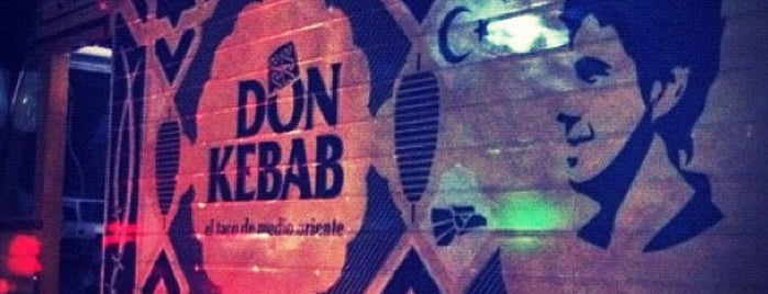 Don Kebab FT is one of Guía de barrio, Ciudad de México.