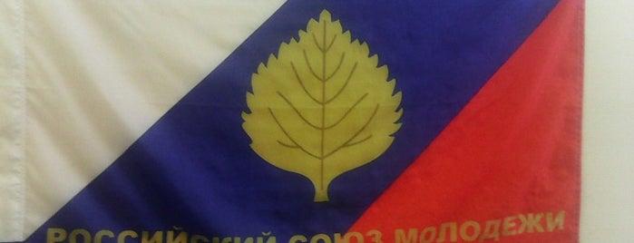 Саратовская областная организация Российского Союза Молодёжи is one of мои места.