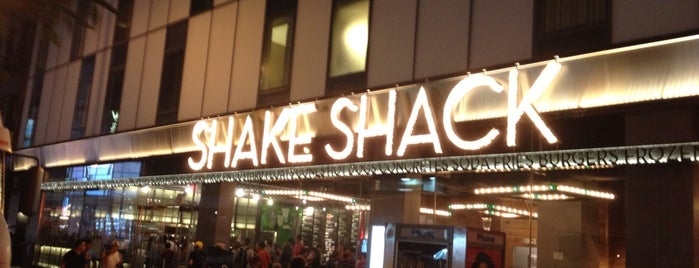 Shake Shack is one of Loose.