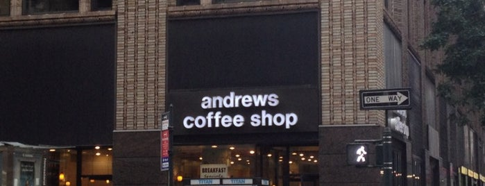 Andrews Coffee Shop is one of Favorite Spots to Eat.