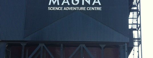 """Magna is one of """"MUST GO""""  Sheffield.."""