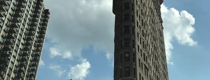 Flatiron Building is one of Badge list.