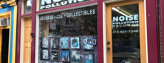 Noise Pollution Records is one of Record stores.
