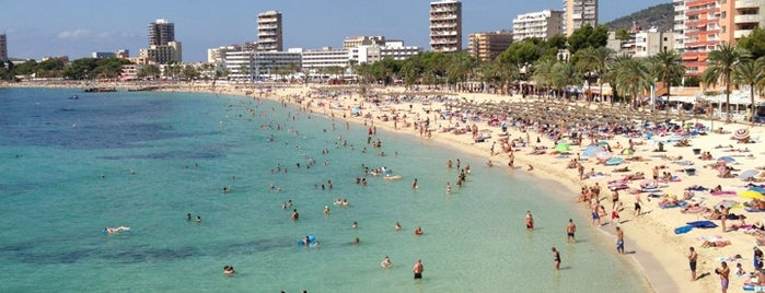 Platja de Magaluf is one of Roteiro gastronômico do Eusébio.