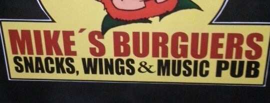 Mike's Burguer is one of baba's places.
