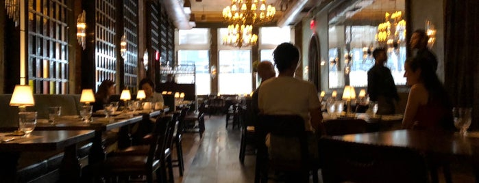 Temple Court is one of Manhattan Food.