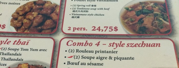 General Tao is one of Must-visit Chinese Restaurants in Brossard.