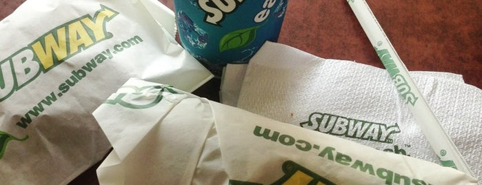 Subway is one of Favorite Food.