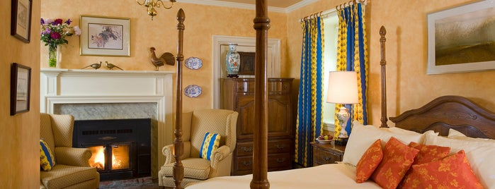 L'Auberge Provencale Bed and Breakfast is one of Clarke County Restaurants.