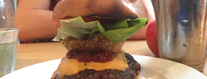 Gourmet Burger Kitchen is one of Richmond Good Food Guide.