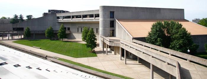 Ivan Wilson Fine Arts Center (FAC) is one of Campus Tour.