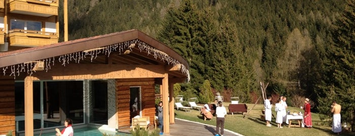 Active Hotel Olympic - Val di Fassa is one of Slow Trek Trentino.