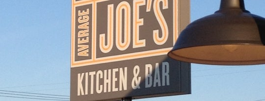 Not Your Average Joe's is one of Favorite eats in the RI, Ma area.