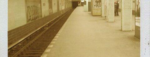 U Leinestraße is one of Besuchte Berliner Bahnhöfe.