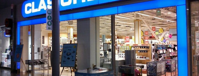 Clas Ohlson is one of shops.