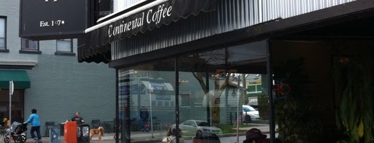 Continental Coffee is one of Cafés, Pâtisseries, Konditorei.