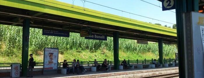 Stazione Villa Bonelli is one of Muoversi a Roma.