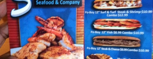 Sharky's Seafood is one of Let's Eat!.