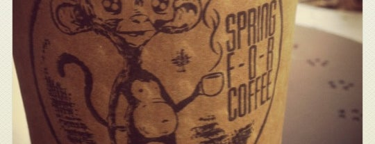 Spring For Coffee is one of LA Coffee Crawl.