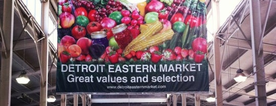 Eastern Market is one of Detroit Tuesday.