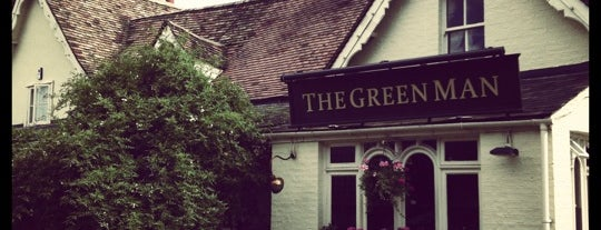 The Green Man is one of My Favourite Food Places.