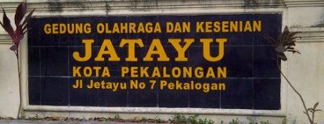 Gedung Olahraga dan Kesenian Jatayu is one of Pekalongan World of Batik.