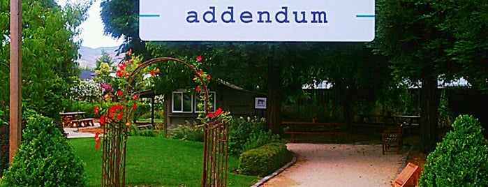 Addendum is one of USA Napa.